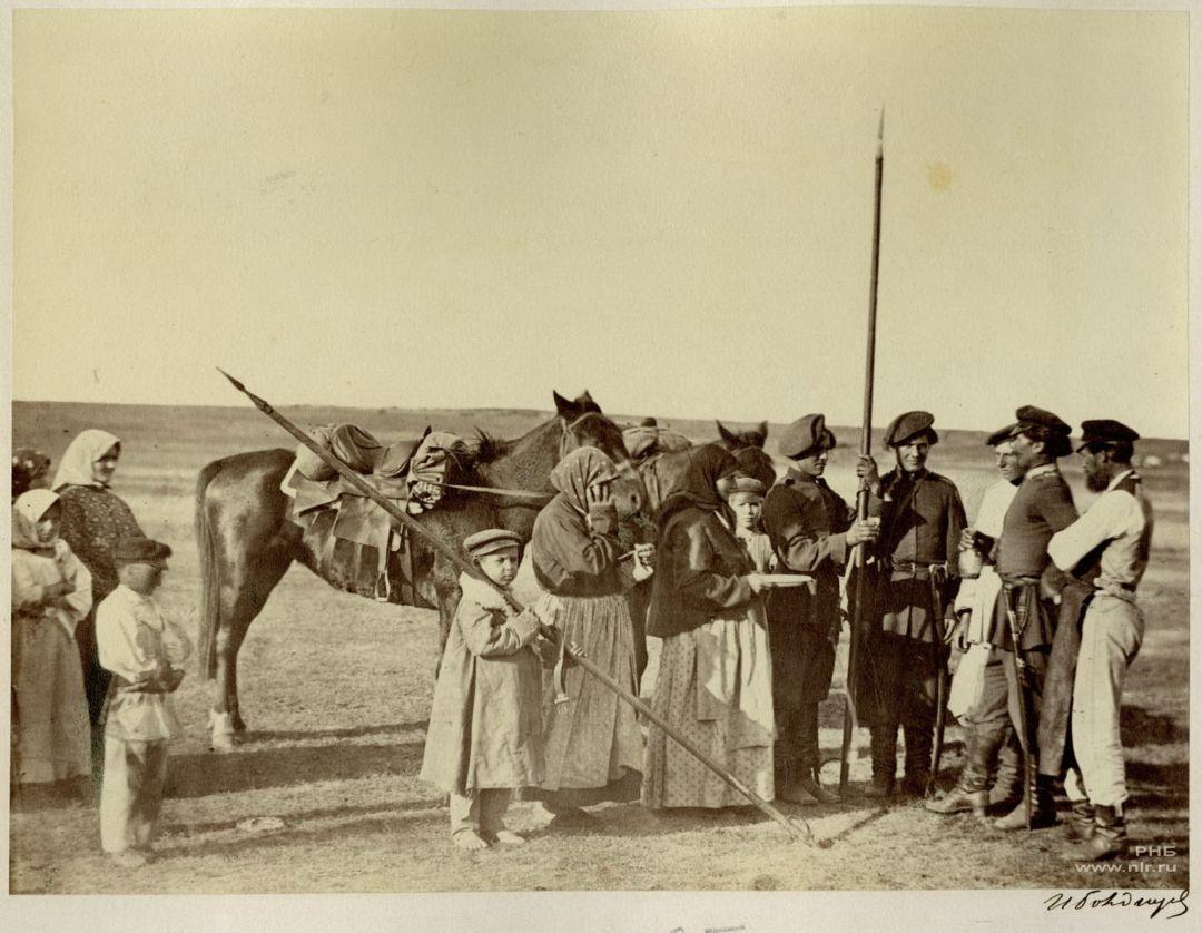 Проводы казака в армию